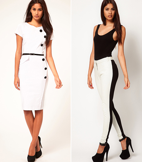 Fekete-fehér módi  Már most sem ismeretlen a fekete-fehér trend, de ősszel még nagyobb elánnal fogja éltetni a divat. A nőies és a sportos verziójára is érdemes felkészülni ruhaügyileg, ami egyáltalán nem lesz nehéz feladat.