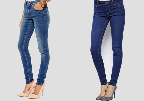 Továbbra is divatos az egyszerű, szűk szárú farmer, ami csizmával, magassarkúval vagy egy sima tornacipővel is jól mutat.