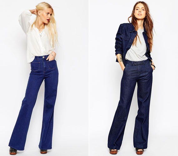 A széles szárú nadrág nem picike lányoknak lett kitalálva, bár, ha a derékszabás elég magas, jó lehet alacsonyabb testalkaton is.
