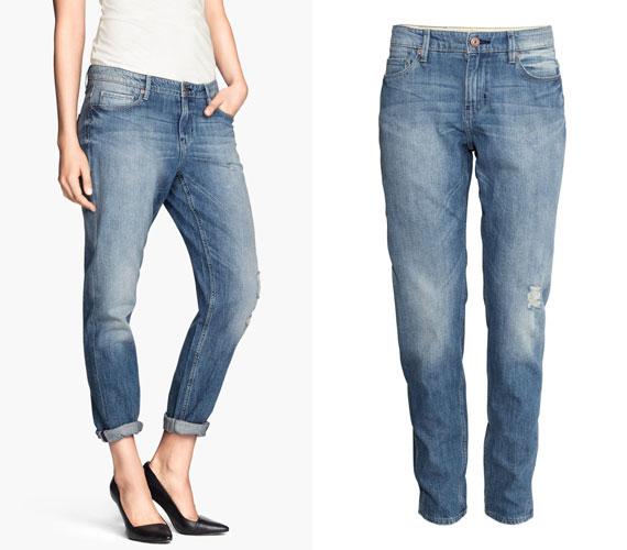 A boyfriend nadrág soha nem fog kimenni most már a divatból, a H&M világos farmerjáért 9990 forintot kell fizetned, ha szeretnéd a magadénak tudni.