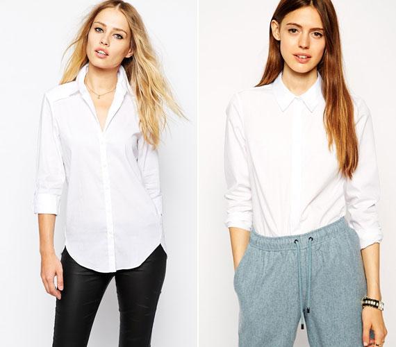 Klasszikus szabású férfias ing, melyet viselhetsz vagányan, kigombolva vagy decensen csukva. Mindenképpen érdemes hozzá nőies kiegészítőt választani.