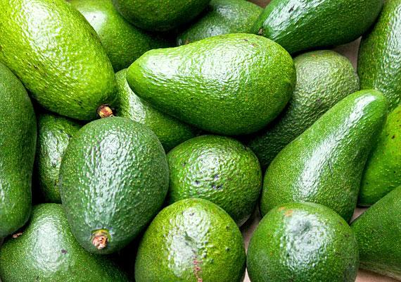 Az avokádóban esszenciális zsírsavak és E-vitamin található.