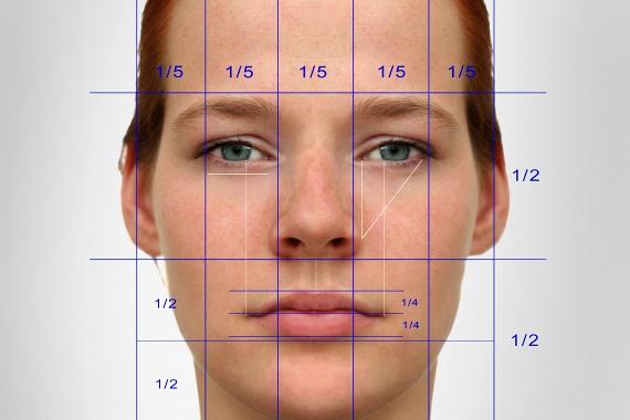 A női arc szépségét nagyban meghatározzák a matematikai arányok. Ideálisan például a szem és az ajkak közti távolság 36%-a az arc teljes hosszának, míg a szemek egymástól olyan távolságra kellene, hogy üljenek, hogy az éppen 46%-a legyen az arc szélességének. Sajnos ezek az arányok nem változtathatóak meg az arcodon, ám optikailag finomíthatsz rajtunk, például, ha egy arckeskenyítő frizurát választasz.