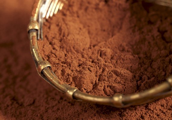 A kakaópor, nem a cukrozott, instant változat, tele van a bőr számára értékes polifenolokkal, melyek antioxidánsként működnek. Vásárolj biokakaóport.