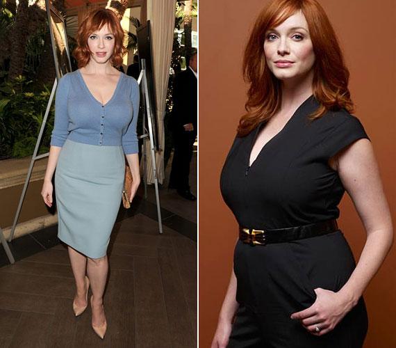 - Persze, hogy szívesen leadnék tíz kilót, melyik nő nem? Ettől még jól nézek ki így is - milyen igaza van a szépséges Christina Hendricksnek.