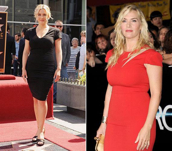 Kate Winslet nem volt hajlandó diétázni a gyerekszülés után, és nincs is rá szüksége. Bár nem nádszálkarcsú, remekül fest három gyerek után is.