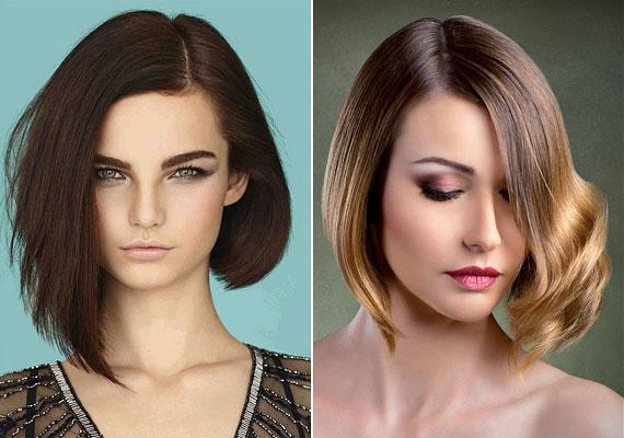 Az aszimmetrikus haj segít, hogy dúsabbnak tűnjön a frizurád. Mindenki arra az oldalra figyel majd, ahol több haj van, a hosszal is érdemes játszani. Ráadásul így kiemelheted az előnyösebbnek tartott profilodat is.