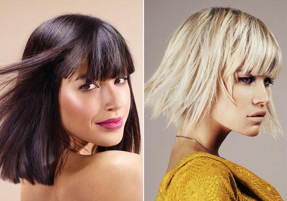 Ha az egyenes, hosszabb bob mellett döntesz, akkor is nyomogasd össze egy kicsit. Ha a frizura alja is elvágott, és nem vékonyodó, többnek tűnik majd a hajmennyiség.