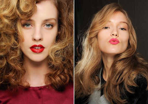 A nagy volumenű, hullámos haj dúsabbnak mutatja a frizurát, ez az egyetlen kivétel a természetes hatású fazonok között.