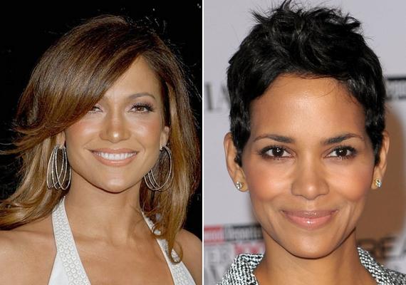 Ha gyémánt formájú az arcod, mint Jennifer Lopeznek és Halle Berrynek, a dús, vállig érő haj és a bohém pixie frizura is jól áll. Az egyenes frufru azonban tovább szélesíti az arcot.