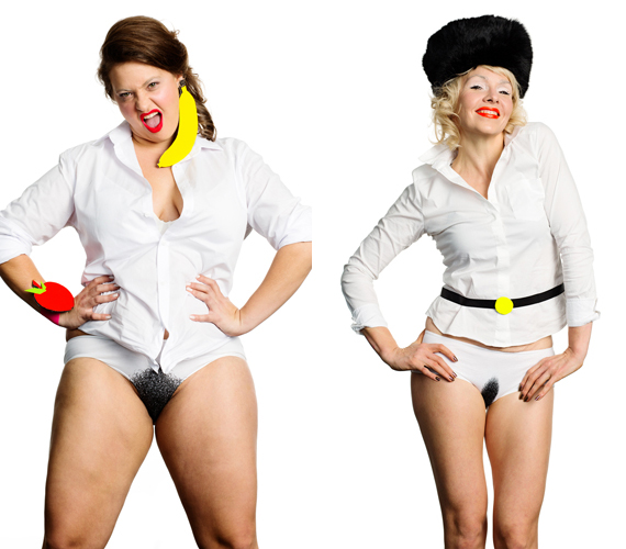 Egy művészpáros, Katriina Haikala és Vilma Metteri szőrös mintájú bugyikat álmodott meg. Olyan figyelmesek voltak, hogy még a különböző intim fazonokra is ügyeltek.