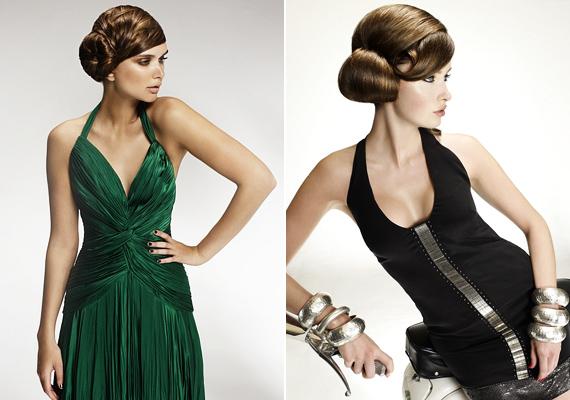 Ha nem is vennéd teljesen Leia hercegnősre a figurát, a féloldalas konttyal is biztosan sikert aratsz. Fésüld át egyik oldalra a hajad, és a klasszikus kontyhoz hasonlóan rögzítsd a füled közelében.