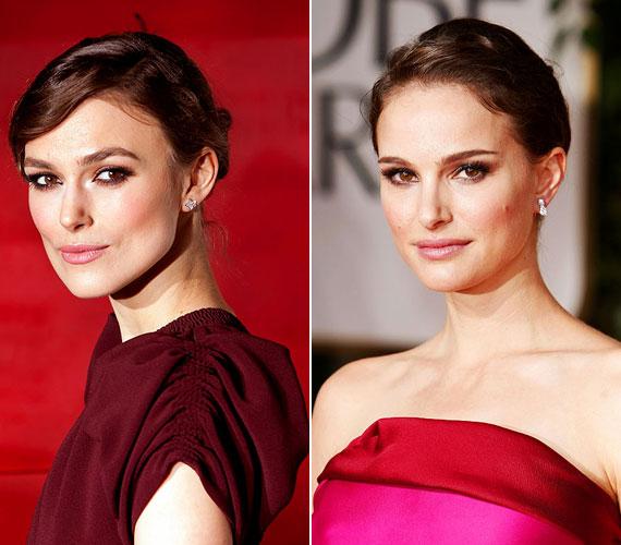 Keira Knightely és Natalie Portman hasonlósága a filmvásznon is szerephez jutott, a Csillagok háborújában az angol színésznő Amidala királynő hasonmását játszotta.