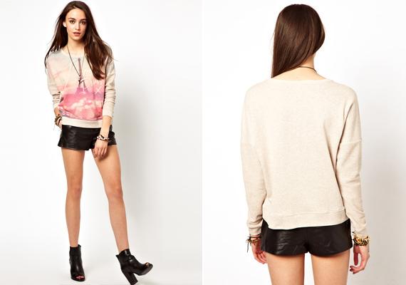 Ha pulcsit veszel, válassz olyat, ami bővebb. Ez most amúgy is divatos, így nem lesz nehéz dolgod.