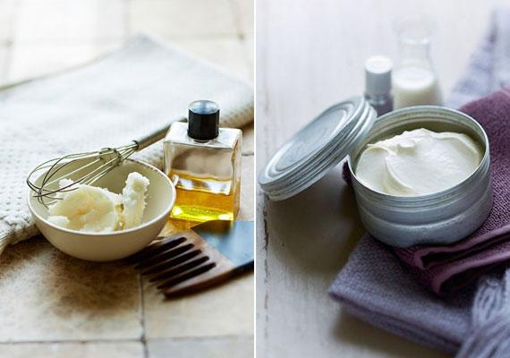 A természetes olajokból és zsírokból álló testvaj csodákat tesz a bőrrel, és nagyon egyszerű elkészíteni. Ha szeretnéd otthon összeállítani, kattints ide a receptért.