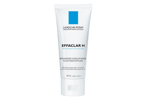 A La Roche Posay Effaclar termékcsaládjának H elnevezésű tagja egy nagyon könnyű, vizes bázisú krém zsíros és pattanásos bőrre, ami mentes minden illatanyagtól. Reggel és éjszaka is használhatod.