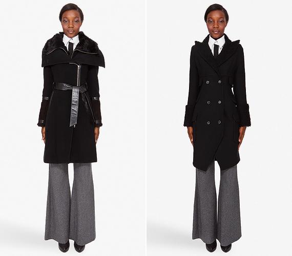 A lefelé bővülő midi kabátok trapéz- és bő szárú nadrágokkal alacsonnyá tesznek. A trükkös frakk fazonokhoz nyugodtabban rendelhetsz A-vonalú gatyókat.