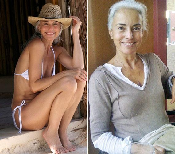 Yasmin Rossi 59 éves, kétszeres nagymama. Hetente egyszer átradírozza a testét cukros-olívaolajos testradírral, csak biotermesztésből származó ételeket fogyaszt, körülbelül napi 1500 kalóriát, 30 éve jógázik, és természetesen rengeteget mozog.