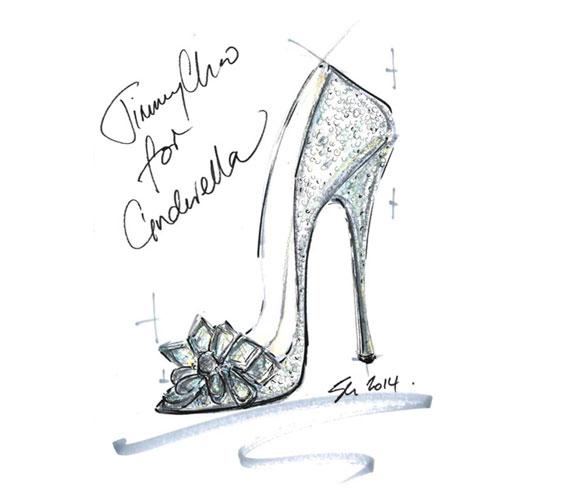 Jimmy Choo kecses, gyémántokkal kirakott cipőt tervezett.