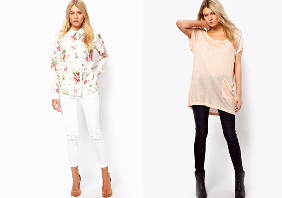 Legyen az blúz vagy póló, ha felsőt választasz, akkor mindenképp a lezserebb, testtől elállóbb fazonokat részesítsd előnyben.