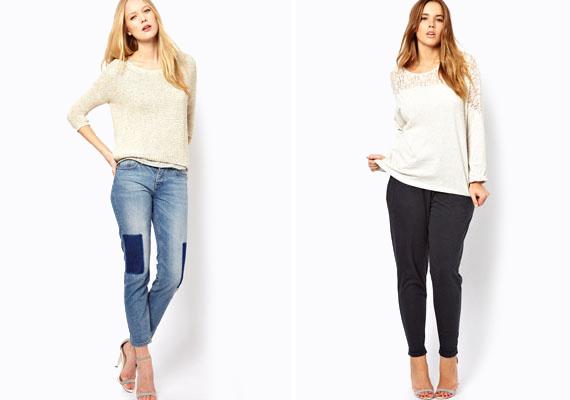 Pulcsiból inkább a bővebb fazonokat érdemes viselned a tavaszi estéken. Mivel most egyébként is trendi ez a fazon, a divat is neked kedvez.
