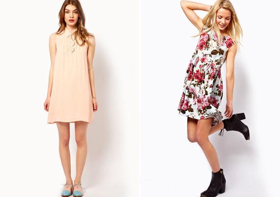 Idén is hirtelen jön a nagy meleg, úgyhogy szükséged lesz egy-két kényelmes nyári ruhára, amiben kedvedre mászkálhatsz anélkül, hogy folyton a hasad jutna eszedbe. Válassz bő ruhákat, a fenti két fazon nagyon trendi.