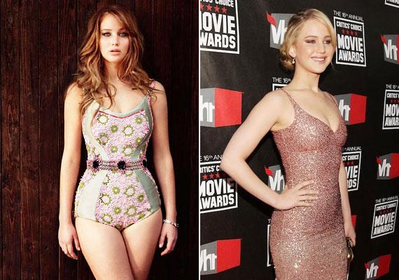 Jennifer Lawrence, szigorúan hollywoodi mércével mérve, husi, a világ többi felén ezt nevezik normálisnak. A diéta szóval ki lehet kergetni a világból, semmiért nem hajlandó diétázni.