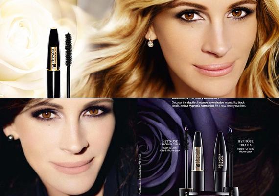 Julia Roberts többször is együttműködött már a Lancôme márkával, ám ennek eredményeként gyakran túlságosan is makulátlan arca lett.
