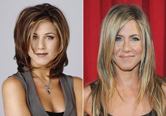 Jennifer Anistonnak jót tettek az évek, az orrát biztos, hogy vékonyabbra szabták, és lehet, hogy az arcából is lefaragtak.