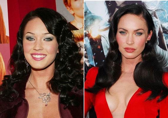 Megan Fox igazi bombázó lett, bár az arca már-már túl tökéletes.