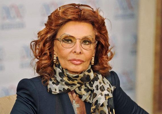 Sophia Loren 78 éves, ehhez nincs is mit hozzátenni.