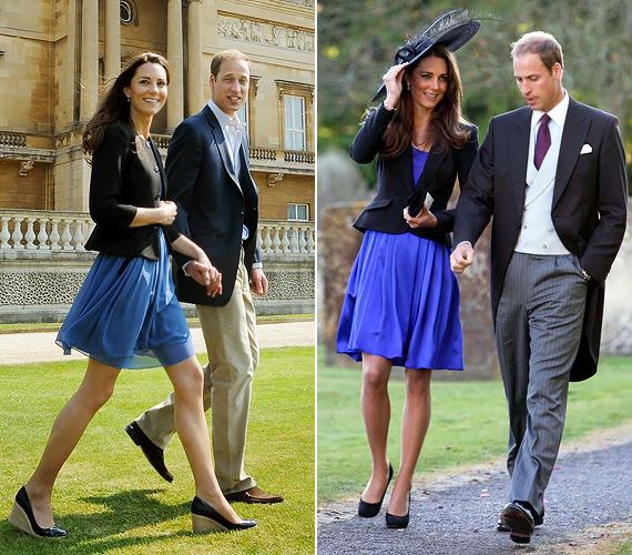 Akár hétvégi kiruccanásról, akár hivatalos látogatásról van szó, Kate gyakran elsüti a jól összeszokott fekete-kék kombinációt, mely a lezser és precíz eleganciában is megállja a helyét.