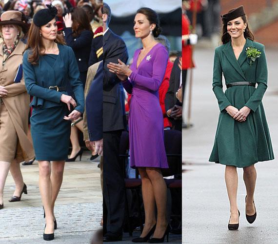 A kristályos árnyalatok - a smaragd, a zafír, az ametiszt - Katalin kedvenc színei közé tartoznak. Amikor csak teheti, ezekben a színekben jelenik meg.Tündöklő színekben pompázó, visszafogott stílusú ruhákat te is találhatsz a Tchibo exkluzív kollekciójában.