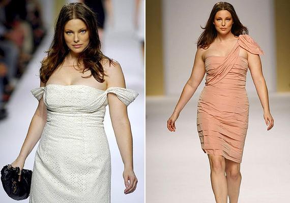 A modell nemcsak fotózásokat vállal, a kifutón is gyakran feltűnik egy-egy plus size márka bemutatóján.