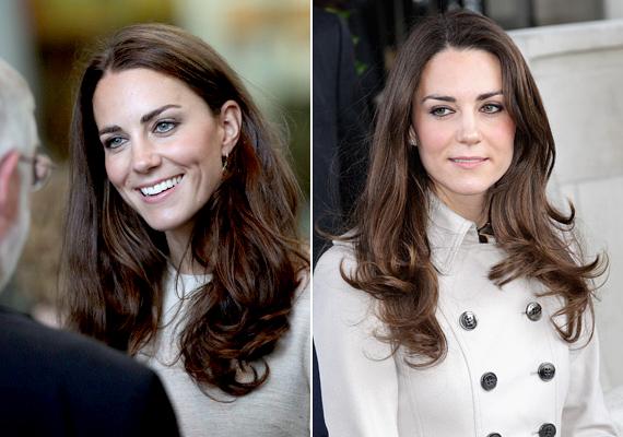 És végül, amibe először kötöttek bele: több újság stylistja is megírta, hogy Kate túl erősen sminkel, nem illik hozzá az erős tusvonal, és néha megszalad a pirosító. Részünkről meg vagyunk elégedve a hercegné sminkjével.