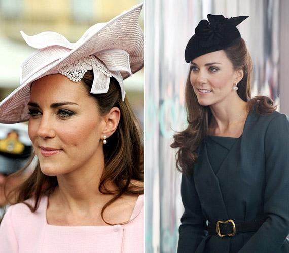 Ugyanezt a frizurát viseli, ha kalapot kell vennie, márpedig ez az Egyesült Királyságban sokszor megtörténik.