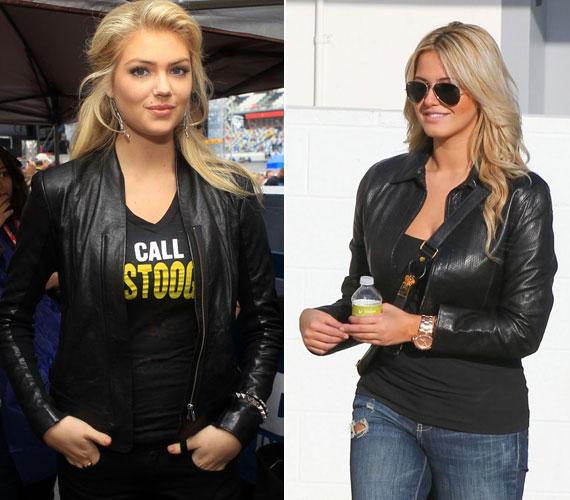 Kate Upton egyik kedvenc ruhadarabja a fekete bőrkabát, amit az utcán és alkalmakkor is visel.