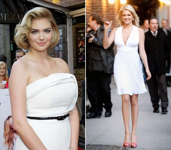 Szívesen mutatkozik Marilyn Monroe-stílusú ruhákban is.