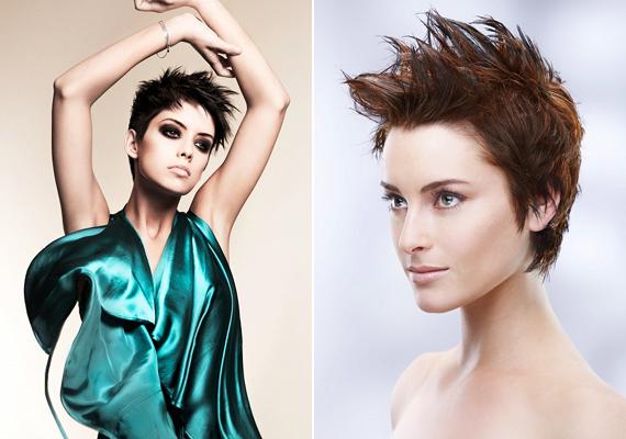 A felfelé zselézett, vagy hajlakkal rögzített frizura most megint megjelenik a divatban. Pont attól nőies, hogy csak az egészen magabiztos nők vállalják be. Te is közéjük tartozol?