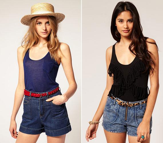 Az olyan divatos rövidnadrágok közül válassz magasított derekút.