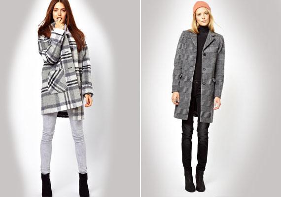 Ha kabátot veszel, vedd figyelembe, hogy a nagy kockák kövérítenek. Érdemesebb apró kockásat választanod. Ügyelj arra is, hogy a kabát ne legyen dupla gombsoros, mert az is erősít.