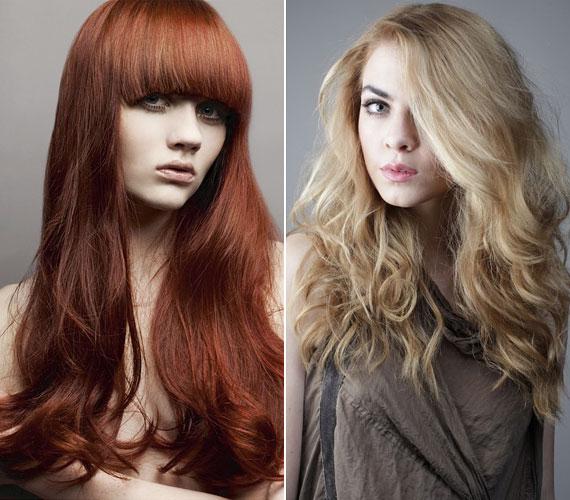 Ha az alsó részt begöndöríted, akkor a haj megtartja saját magát.