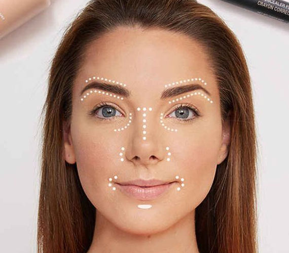 Hogy az arc egységes legyen, ne feledkezz meg az orr- és szájkörnyékről se.