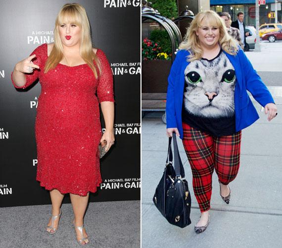 Rebel Wilson ausztrál színésznő egyenesen profitál abból, hogy túlsúlyos. Super Fun Night - Supervicces éjszaka - című sorozatának középpontjában a súlya áll. Igaz, egyes kritikusok szerint azzal, hogy viccet csinál a testéből, nem az elfogadást segíti. A Lánybúcsú című filmben viszont egy olyan nőt alakít, akinek nem számít a súlya.