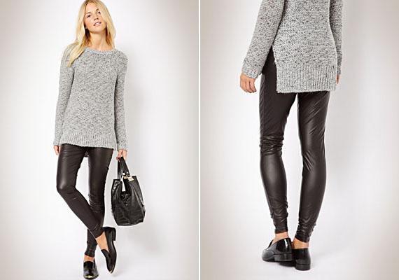 A bőrhatású leggings sem a legjobb választás, ugyanis amiatt, hogy az anyag fényesebb, sokkal teltebbnek mutatja a combokat, illetve domborúbbnak a popsit. Szoknyában, nadrágban sem más a helyzet.