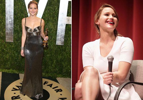 Jennifer Lawrence azt nyilatkozta a Harper's Bazaarnak, hogy, ha meghallja, hogy valaki a fogyókúra szót kiejti a száján, akkor elküldi a fenébe. A szókimondó színésznő angolul is f-betűvel kezdődő szót használt.