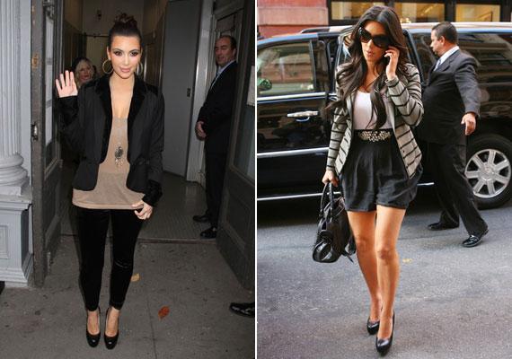 A negyedik helyen a Kardashian lányok - Kim, Kloé és Kourtney együtt - landoltak. A képeken Kim Kardashian.