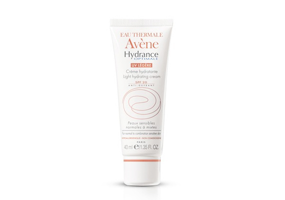 Az Avène Hydrance Optimale UV Protective hidratáló krém száraz, rendkívül érzékeny bőrre való, 15-ös fényvédő faktorral. Ára 5 ezer forint körül mozog.
