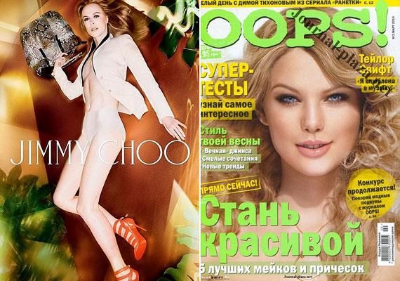 Felismered a képen látható nőket? Nicole Kidman és Taylor Swift nem önmaga ezeken a felvételeken.