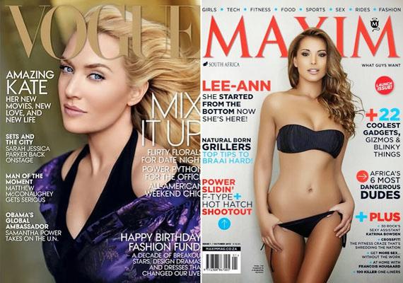Kate Winslet és a bikinimodell is márványbőrt kapott. Ilyen a valóságban nem létezik.